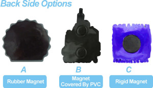 Fridge Magnets back options