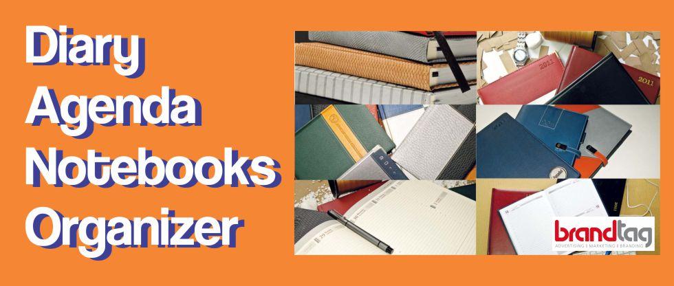 Diary, Agenda, Notebooks & Organizor
